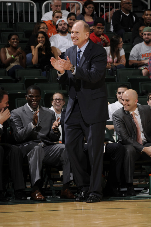 "Interview with Coach Larranaga By Miami School of Communication Blog  Jim ""Coach L"" Larranaga is the head coach of the men's basketball team. He sat down with us for an interview, discussing Aristotle, Miami, and a little basketball … http://miamicommunication.wordpress.com/2012/07/17/interview-with-coach-larranaga/"