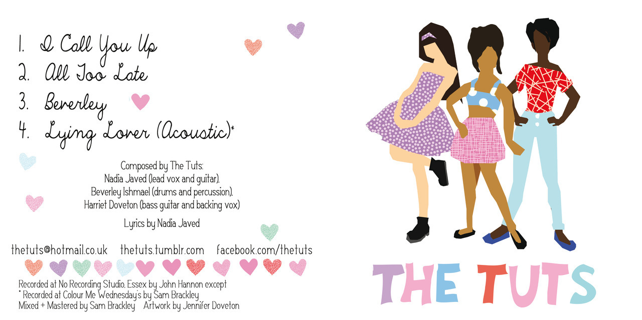 Commission: The Tuts EP cover (Adobe Illustrator) 2012
