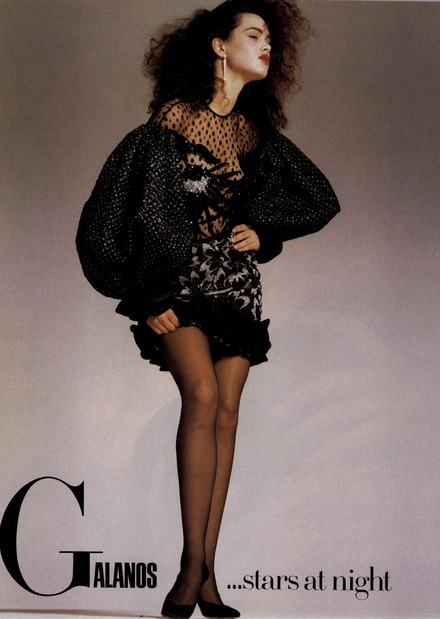 80s90sredux:  Stars At Night……..Vogue Editorial 1987