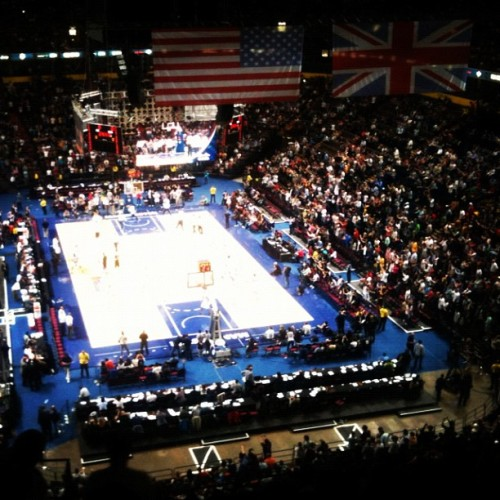 Watching GB get demolished by USA (Taken with Instagram)