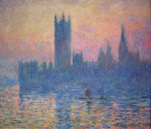 Claude Monet- The Houses of Parliament at Sunset, 1903