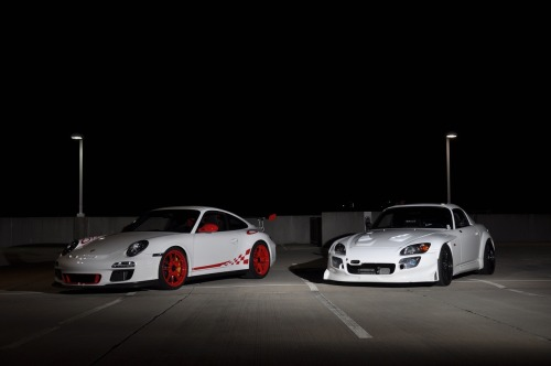 2 Dream CarsFeaturing: Porsche 911 GT3 RS & Honda S2000