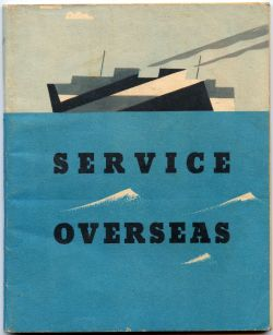 """This 100 page booklet was issued to RAF (and other?) Officers posted overseas from the end of 1942. ""Flickr: Daviddb"