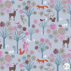 fantastic forest surface pattern design by Bethan Janine copyright © Bethan Janine Westran 2012
