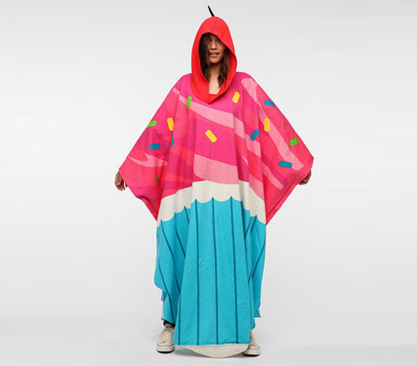 The Cupcake Booty Buddy, An Oversized Poncho That Makes You Look Like a Giant Cupcake