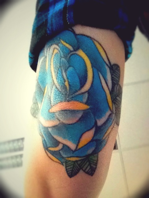 It's hard to photograph your own elbow.. But finally, all healed!