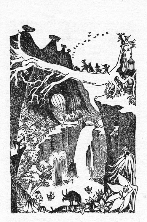 Tove Jansson, The Exploits of Moominpappa, 1952