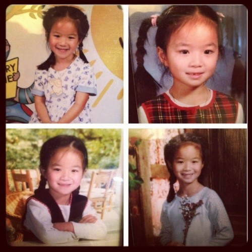 LULZ. Throwback Thursday! Pre-K through 2nd grade. (Taken with Instagram)
