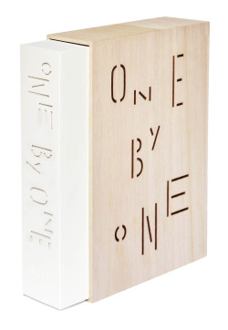 One By One. My work is featured in this new book by Hesign publishing.