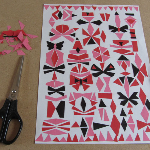 paper cut patterns copyright © Bethan Janine Westran 2012