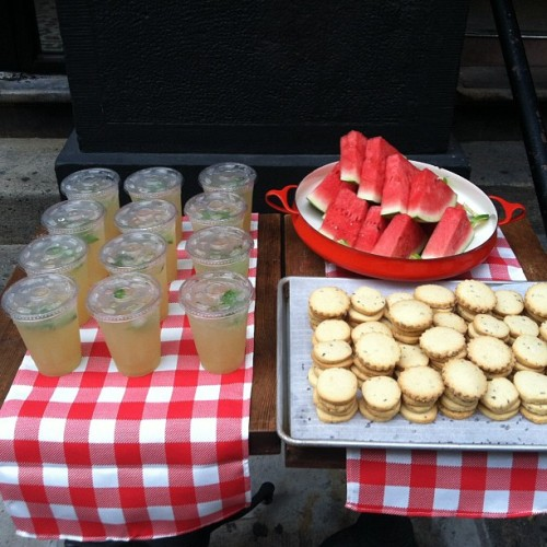 Lemonade Stand at Smile To Go  (Taken with Instagram at Smile to Go)