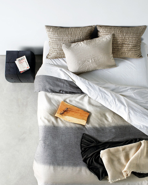 natural colors (via Between the Sheets - Products - Dwell)