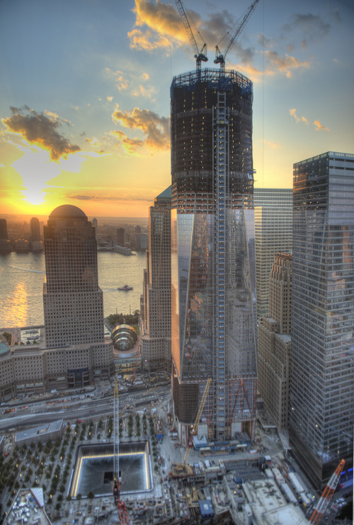 One World Trade (by Tony Shi.)