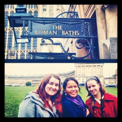That time we went to Bath, UK. 😍 #tbt #throwbackthursday #bath #uk #england #travel #friendsies #bestyearofmylife #PicFrame (Taken with Instagram)