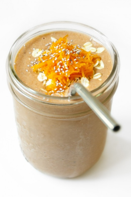 backonpointe:  Carrot Cake Smoothie