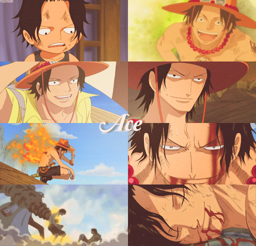 yuundai:  One Piece A → Z : Ace