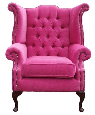 #pink #chair #home