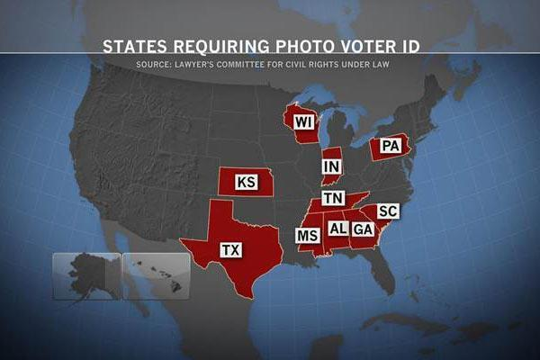 A person is more likely to be struck by lightning than commit voter fraud, so why do Republican state legislatures continue to push voter ID laws?   http://on.msnbc.com/Mbm6Hv