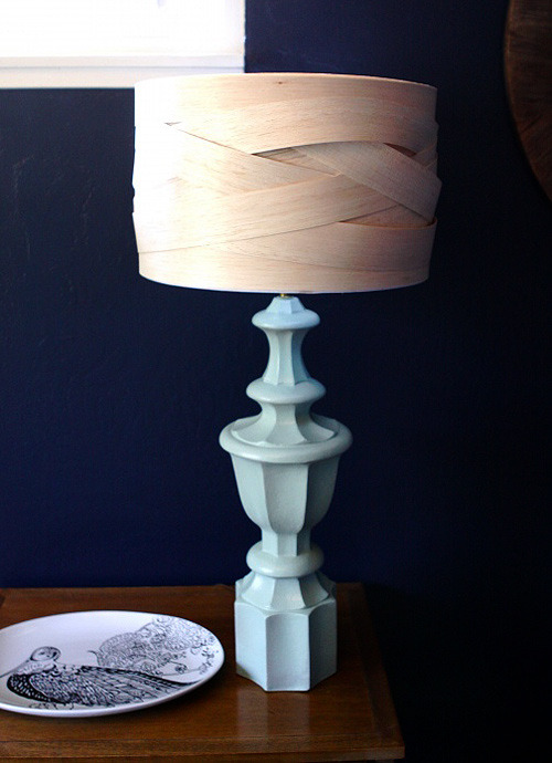(via diy project: woven balsa wood lampshade | Design*Sponge)