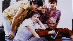 childoftheidle:  Nightmare on Elm Street, Behind the Scenes.