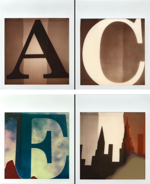 A diptych on Ace x Impossible Film by Vienna-based French artist Cimolaï Jérôme.