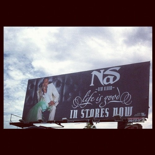 #LifeIsGood #Nas  (Taken with Instagram)
