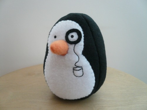 Reginald P. Flapsworthy #penguins #etsy