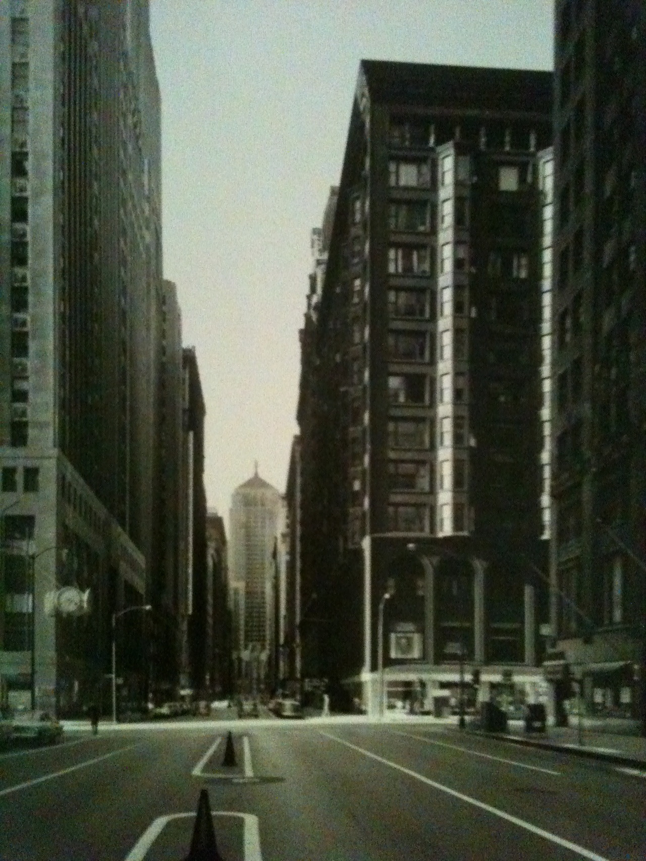 The Old Lasalle Street Canyon.