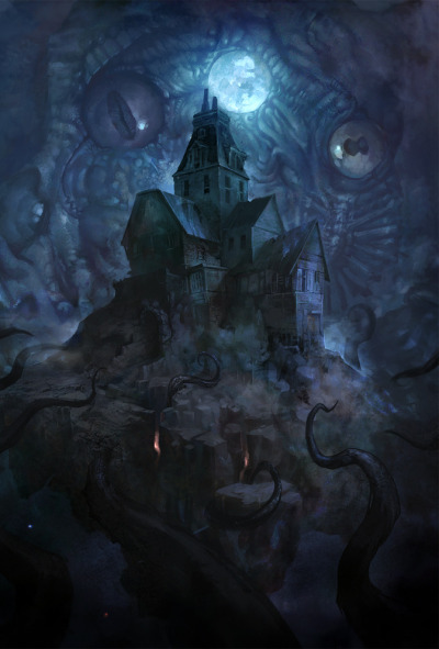 Lovecraft's Tribute by Adolfo Navarro