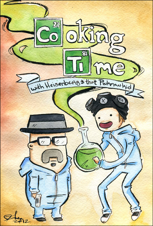 Breaking Bad meets Adventure Time