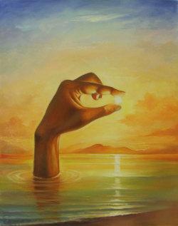art beautiful psychedelic surrealism