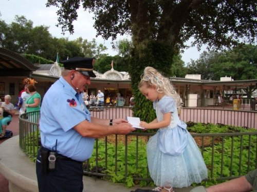 "onceaponadisney:flywithafreebird:   ""Upon entering the Magic Kingdom, one of the security guards said to the girl ""Excuse me Princess, can I have your autograph."" I could see that the book was filled with children's scribbles as the guard asked the same question of many little Princesses. The little girl could not get over the fact that the guard thought she was a real princess.""    CRYING THAT IS THE BEST THING EVER."