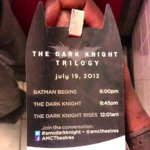 1 down,  two to go!  Forgot how good Batman Begins was! #DarkKnightTrilogy  (Taken with Instagram at AMC Loews Kips Bay 15)