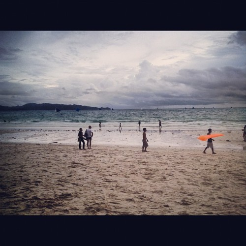 Oh hey there #boracay #philippines #beach (Taken with Instagram)