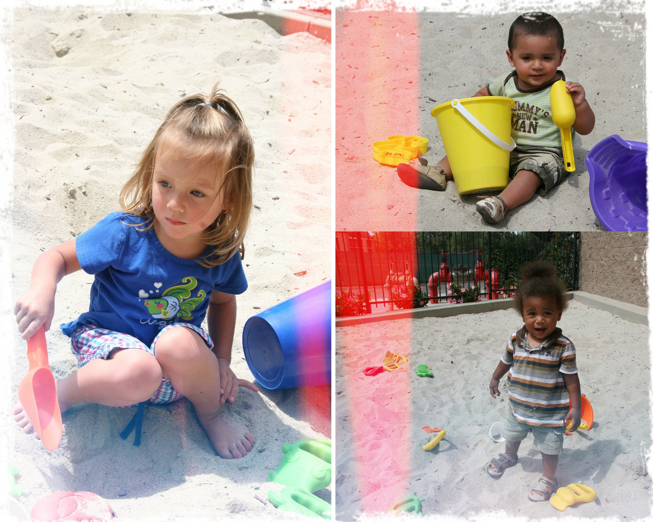 some of the Village Of Hope kiddos in their new sandbox provided by Westcoast Connections !!! Thanks guys!
