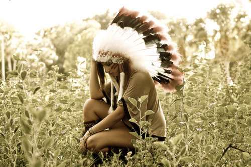 I want a headdress so bad….