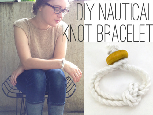 (via DIY Nautical Knot Bracelet - henry happenedHenry Happened)