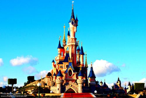 Le Château de la Belle au Bois Dormant Main Street U.S.A Disneyland Paris