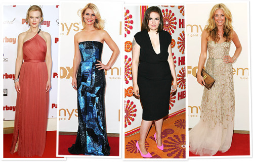 Emmy 2012 Nominations - Checkout @InStyle's Photo Gallery of the Women who top the list…