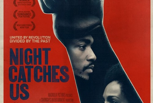 "Review: Night Catches Us This is a movie about the complicated and difficult years following the rise and fall of the Black Panther Party in one Philadelphia neighborhood. The film gave me a lot to think about and I really enjoyed it. Here's what the LA Times had to say about it:   Recent films such as ""Carlos,"" ""The Baader Meinhof Complex"" and ""Che"" have looked at the blowback and aftermath of the revolutionary adventures of the 1960s and '70s across Europe and South America. With ""Night Catches Us"" writer-director Tanya Hamilton brings some of those same passions and upheavals to domestic shores with a look at the personal undercurrents that drive the political actions in one neighborhood in Philadelphia in 1976. Hamilton's film, opening in Los Angeles on Dec. 10 and available on video-on-demand, is a fictional drama but has some rough basis in historical truth. The film covers the story of a one-time member of the Black Panther Party (played by ""The Hurt Locker""'s Anthony Mackie) returning to his old neighborhood to rekindle a long dormant relationship with a fellow activist ( Kerry Washington, most recently seen in ""For Colored Girls""). While the story isn't based on any specific person, in her re-creation of the times and its conflicts, Hamilton was careful that the scenario, which plays out as something of an elegiac romance, remained plausibly grounded in the realities of those who lived through the era. ""To me, the Panthers have not been allowed to be humanized,"" Hamilton said by phone from Philadelphia, where she lives. ""We didn't want the movie to be about sexy black men with guns. We wanted to make a movie about people who had complexity, who were struggling and flawed. I didn't want to make a movie that was about teaching, I wanted to make a movie that was complicated."" While the film points to certain historical facts – such as the government-sponsored disinformation campaign against the Panthers – Hamilton was also careful that the political never overwhelm the personal. ""It's easy for me to speak about it today with nothing much at stake, but I feel like there is such great complexity in the people who were part of the Panther movement and I feel like that complexity has been lost,"" she said. ""The one thing I could do was to show that the party in its purest form, was a grassroots organization started by people who had a great commitment and connection to their community who really wanted to make a difference with their neighbors and kids. And like all political movements, things got complicated."""