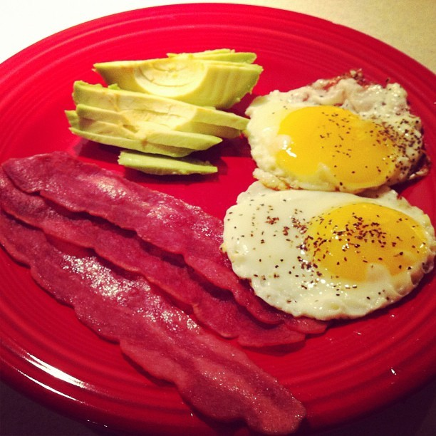 Breakfast for dinner. Why not? (Taken with Instagram)
