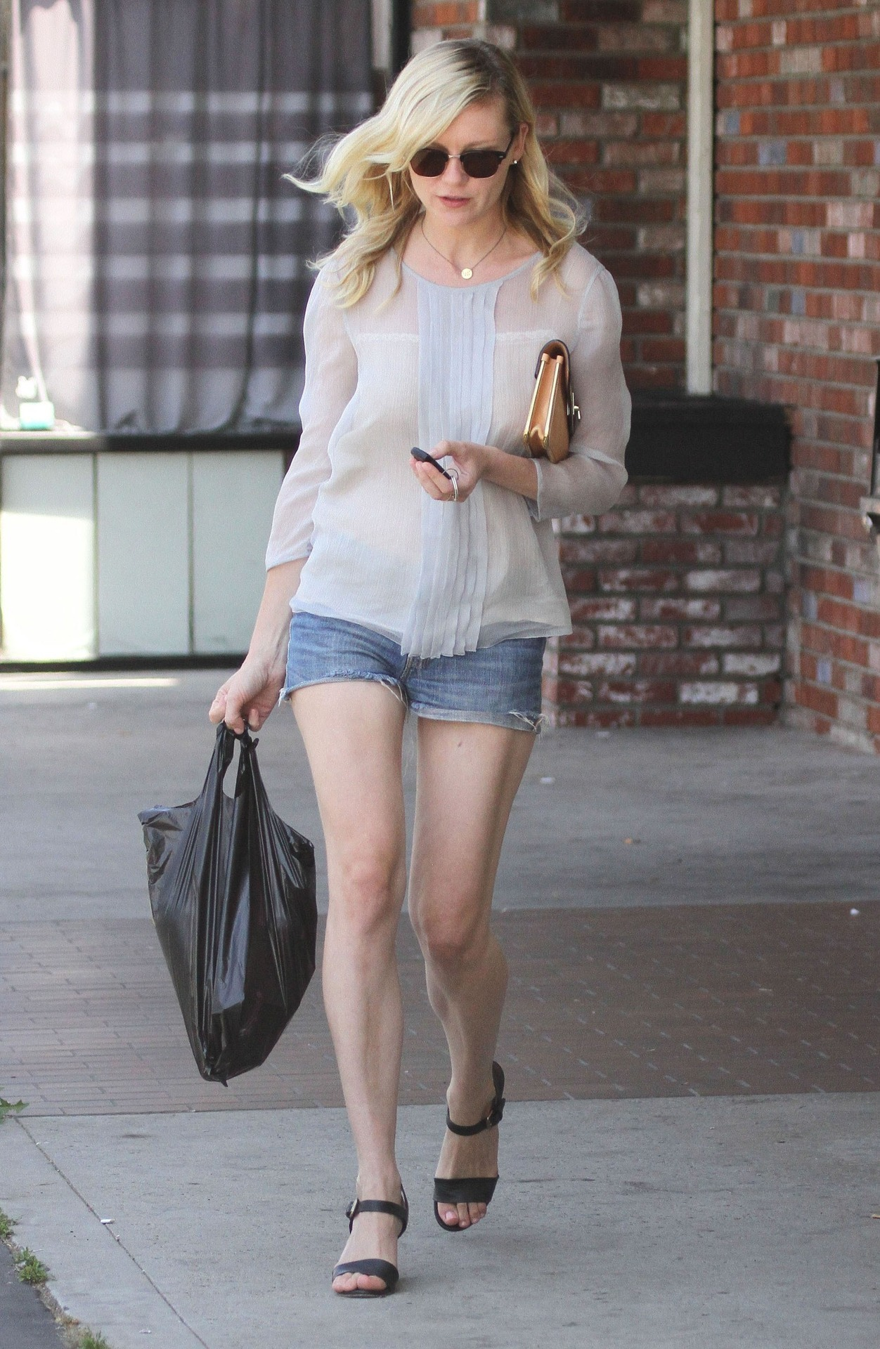Kirsten Dunst in Toluca Lake, July 17th