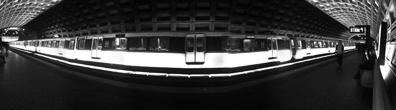 The Neverending Train EXIF: iPhone 4. Edited with DMD Panorama.