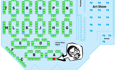 8bitmaximo:  You can find me in the magical land of Otakon! Like right there!!  dude!!! can't wait to see ya there