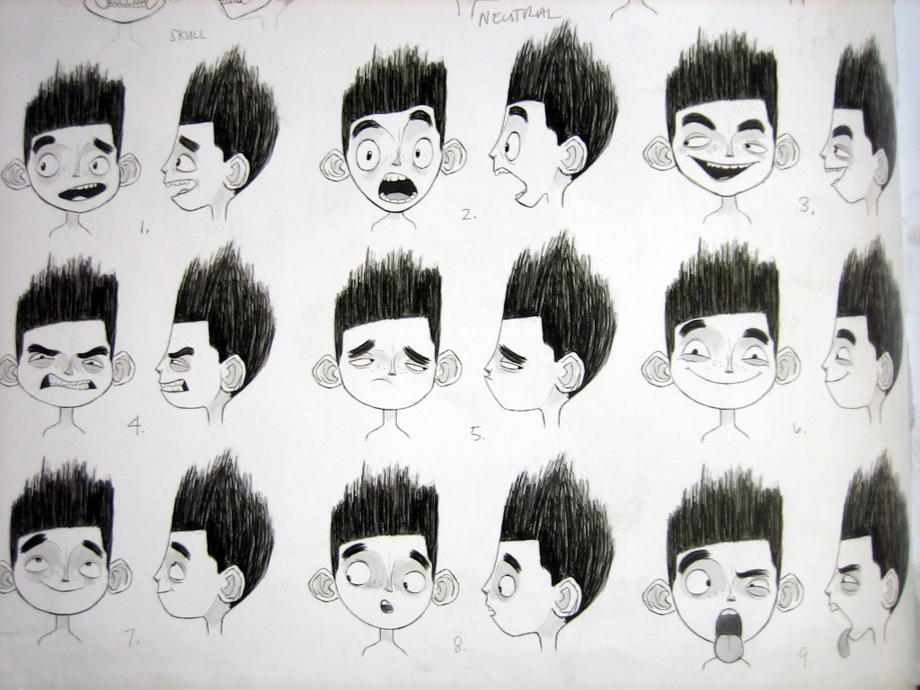pixardisneyghibli:  from The Art and Making of ParaNorman.