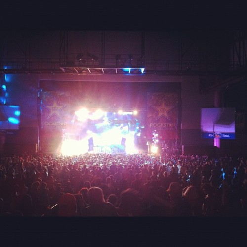 Watching @nerouk from the far back #idfestival (Taken with Instagram)