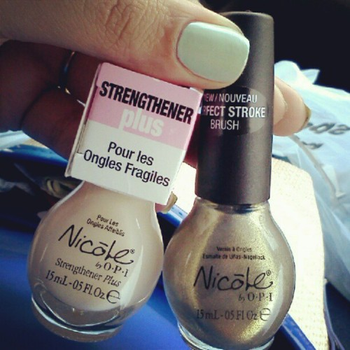 Can't wait to try these! #nailpolishaddict #instanails #polish #NicolebyOPI (Taken with Instagram)