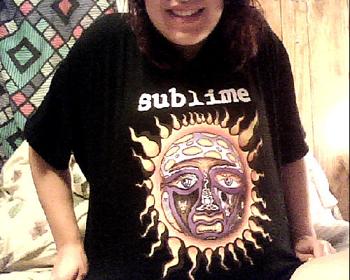 newest sublime shirt came in the mail today. Holla.