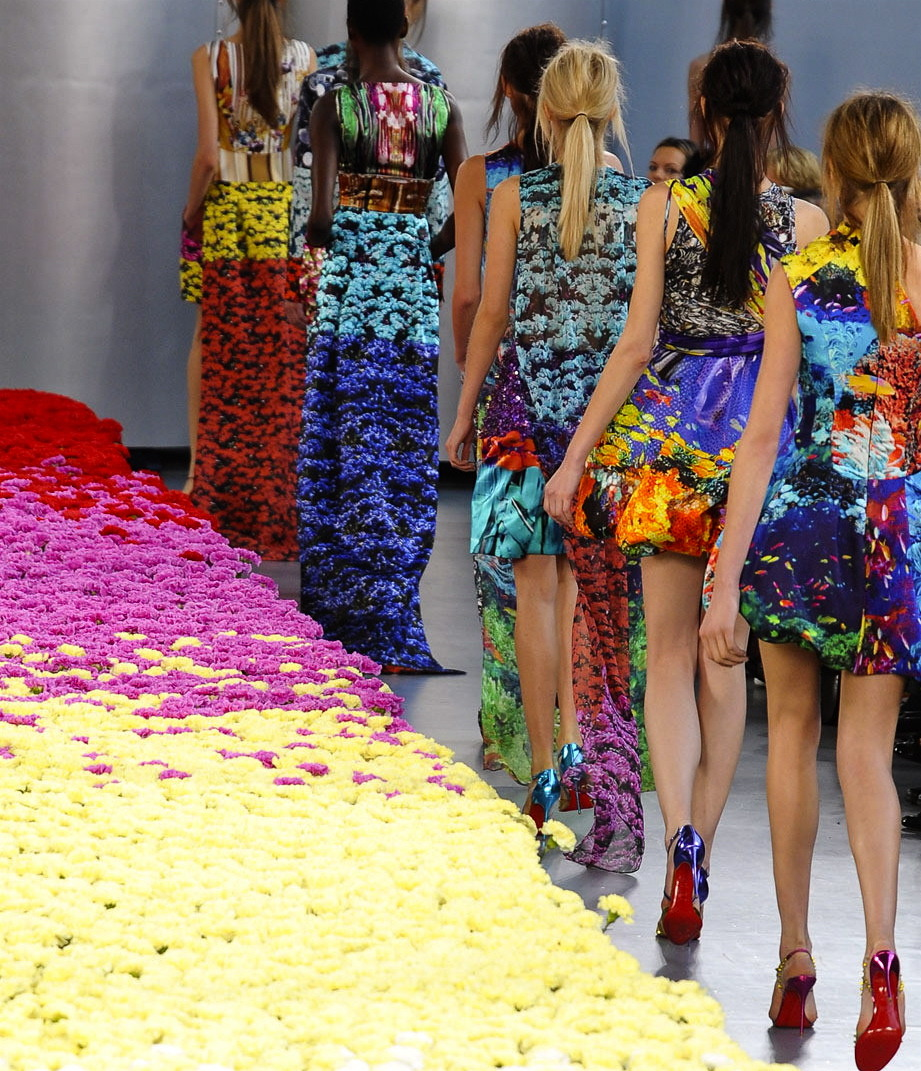 somethingvain:  mary katrantzou s/s 2012 rtw, london fashion week