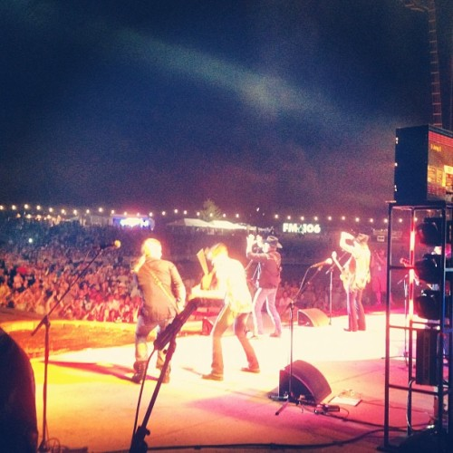 Big and Rich backstage. #countrythunder2012 @bigkennytv  (Taken with Instagram)
